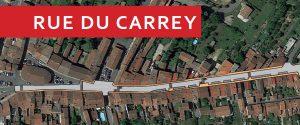 Chantier, rue du Carrey – Vie pratique