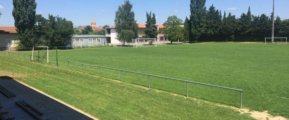 terrain de rugby et foot de rieumes