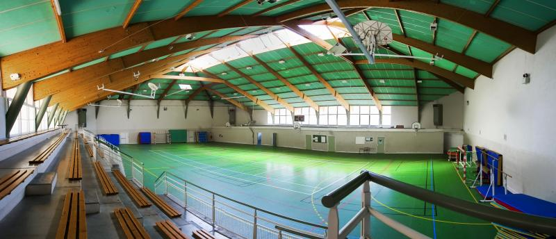 tribune Rieumes gymnase