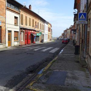 Travaux rue du carrey de rieumes