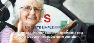Prévention routière pour les  séniors