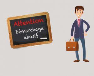 ATTENTION DEMARCHAGE FRAUDULEUX