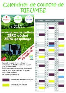CHANGEMENT DE JOUR DE COLLECTE DE LA POUBELLE JAUNE A PARTIR DU 5 OCTOBRE