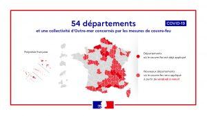 LE COUVRE-FEU ETENDU A TOUTE LE DEPARTEMENT DE LA HAUTE-GARONNE