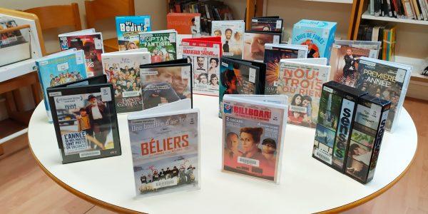 Nouveautés cinéma à la médiathèque