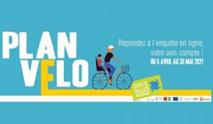 Grande enquête «Plan vélo», réalisée par Le Pays Sud Toulousain