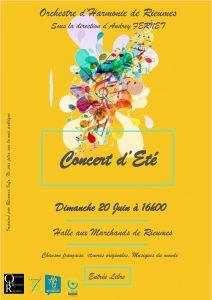 Concert d'été par l'Orchestre d'Harmonie de Rieumes