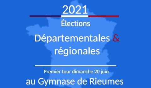 Elections Départementales et Régionales au gymnase