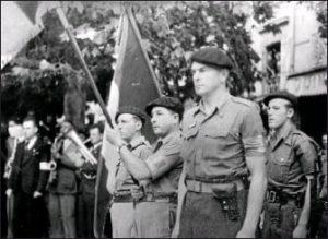 Commémoration de l'assassinat du commandant du maquis de Rieumes Jules Delattre