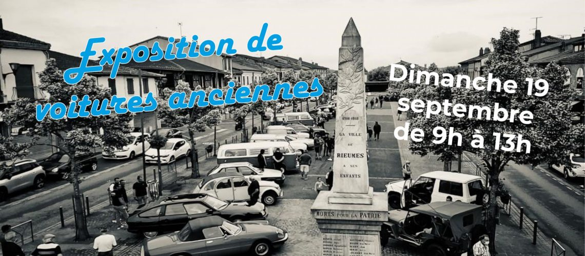 expo voitures anciennes