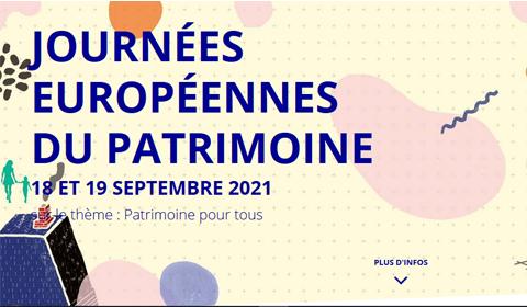Demandez le programme des Journées Européennes du Patrimoine !